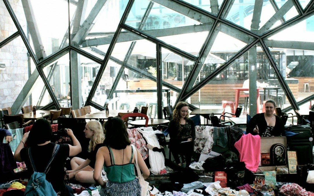 Suitcase Rummage @ Federation Square
