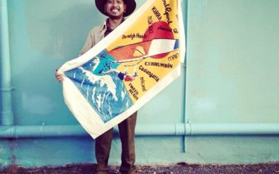 Introducing our Rummage Staff, say G'day to Jimmy!