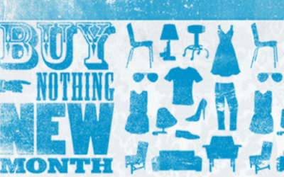 Buy Nothing New Month!