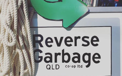 Getting chatty with Reverse Garbage Qld!
