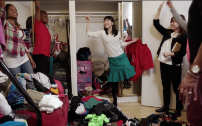 Tidying Up! A little note on spring cleaning and Marie Kondo.