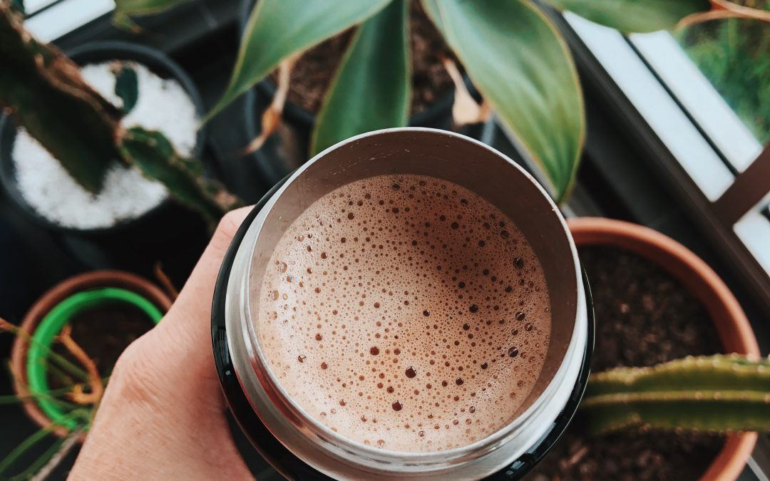 Quarantine Recipes from the Rummage Team: Oat Milk Hot Chocolate!